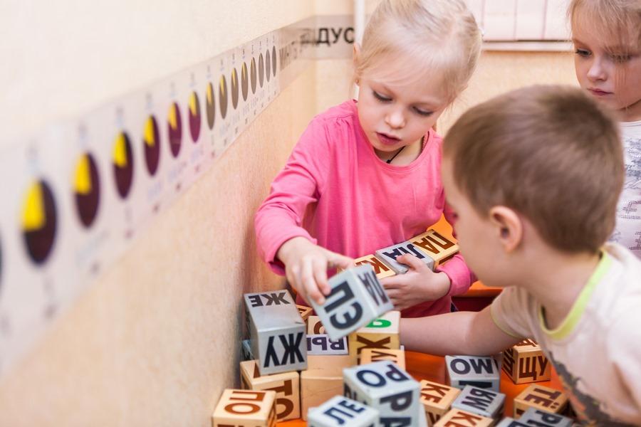 Занятия по кубикам зайцева, детский центр Чудо-Чадо